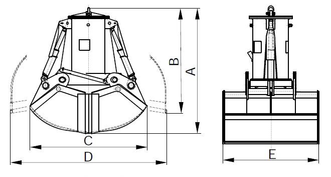 Схема грейфера С2