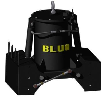 Грейфер электрогидравлический для подводных работ