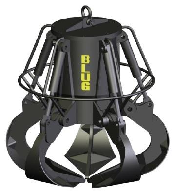 Электрогидравлический грейфер BLUG для подводных работ