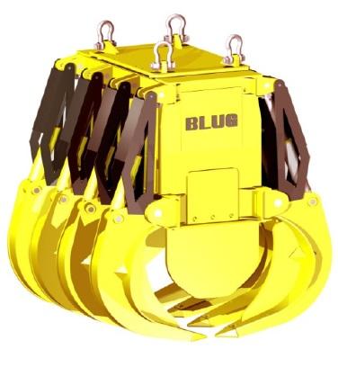 Электрогидравлический грейфер Blug для разгрузки вагонов