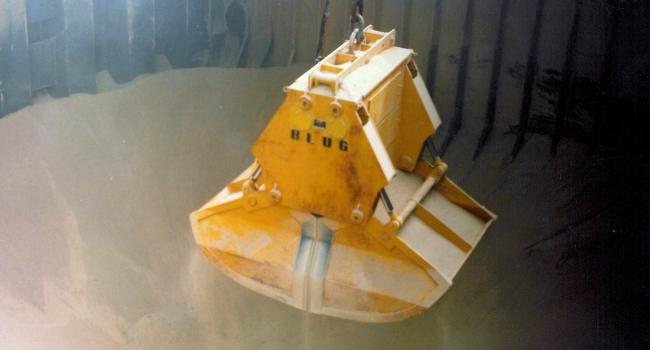 Ковшевые грейферы BLUG для сыпучих материалов