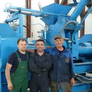 Технический персонал Баггер-Сервис и Birim Makina