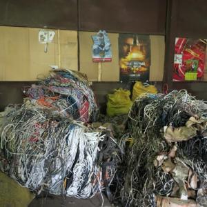 Сырье для переработки-отходы бытового кабеля