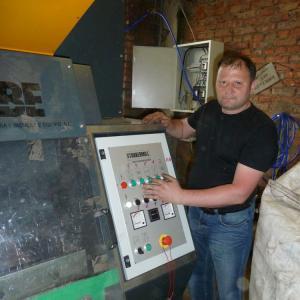 Ввод в эксплуатацию гранулятора по переработке кабеля техническим персоналом Баггер-Сервис