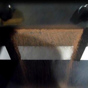 Вибростол с гранулированной медью
