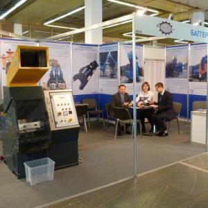 Стенд Баггер-Сервис на выставке Металл-Экспо 2013
