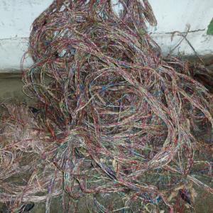 Отходы телефонного кабеля - сырье для переработки