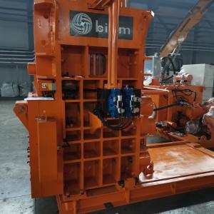 Установка трубопроводов и гидроблока пресса