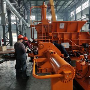 Монтаж трубопроводов бокового цилиндра