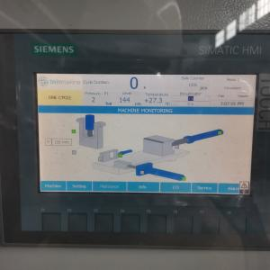 Сенсорный экран с рабочими положениями цилиндров