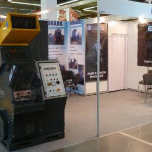 """Стенд ООО """"Баггер-Сервис"""" на выставке Металл-Экспо 2012"""