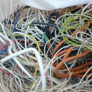 Сырье для переработки- кабель и провода отходы кабельного завода